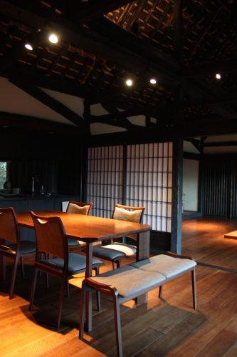 Maison traditionnelle au hameau d'Ochiai, vallée d'Iya, Tokushima, Shikoku, Japon