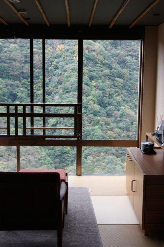 Hôtel Iya Onsen, vallée d'Iya, Tokushima, Shikoku, Japon