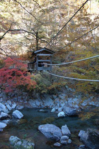 Pont du singe sauvage, vallée d'Iya, préfecture de Tokushima, Shikoku, Japon