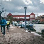 Balade à vélo le long de la baie de Toyama