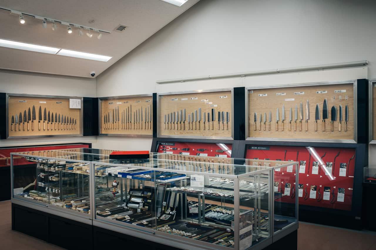 Boutique du Musée de l'artisanat traditionnel de Sakai, Osaka, Japon