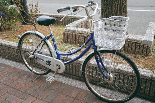Système de location de vélos dans la ville de Sakai, Osaka, région de Kinki, Japon