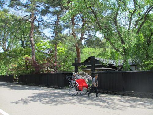 L'été à Kakunodate, Senboku, Akita, Japon