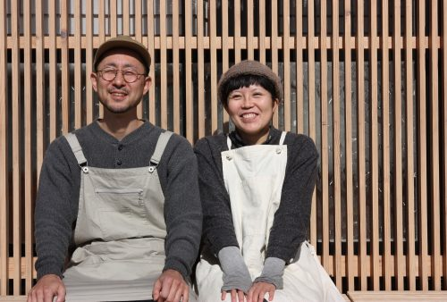 Les jeunes propriétaires de la boulangerie bio et healthy à Chiwata, préfecture de Nagasaki