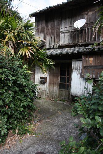 Maison ancienne à Bonotsu, à Minamisatsuma, Kagoshima, Japon