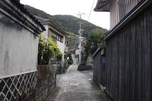 Les anciennes demeures du village de Bonotsu, à Minamisatsuma, Kagoshima, Japon