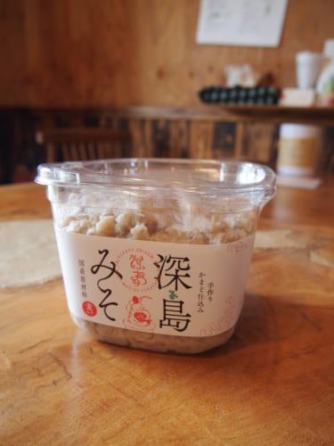 Miso artisanal fabriqué au Fukashima Shokudô