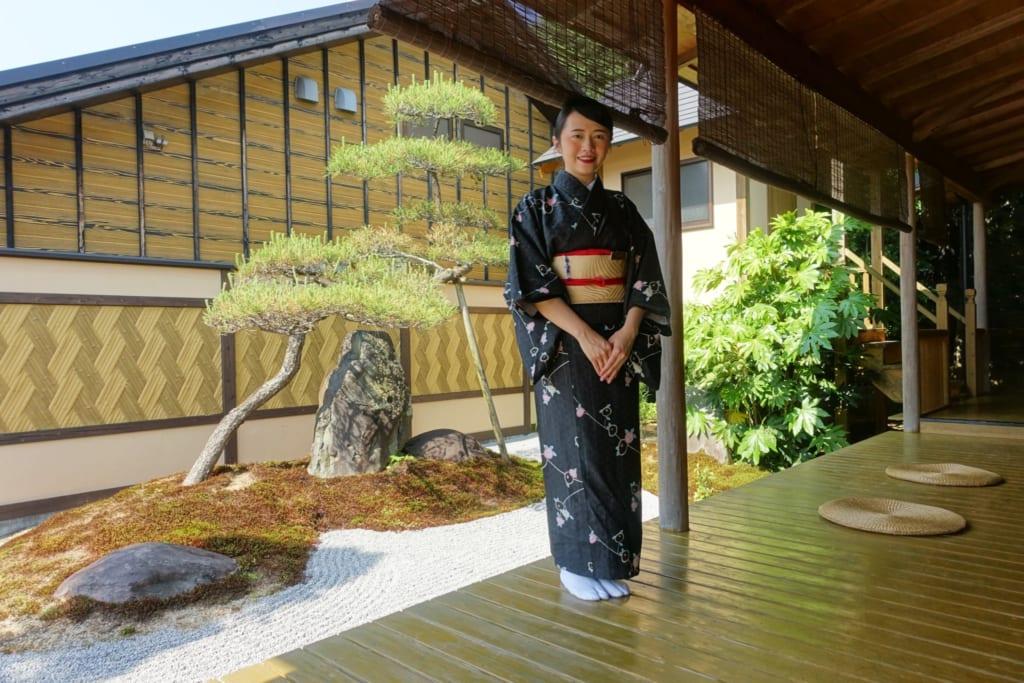 séjour dans un ryokan à takachiho