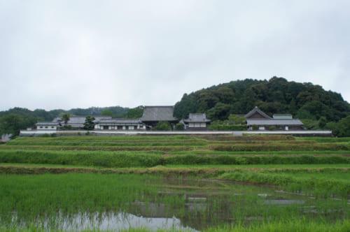 Le temple Tachibana-dera, établi pendant la période d'Asuka