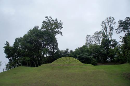 Le kofun de Kitora à Asuka, Nara