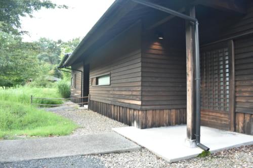 Entrée privative d'une suite au Ryokan Konomama à Kumamoto