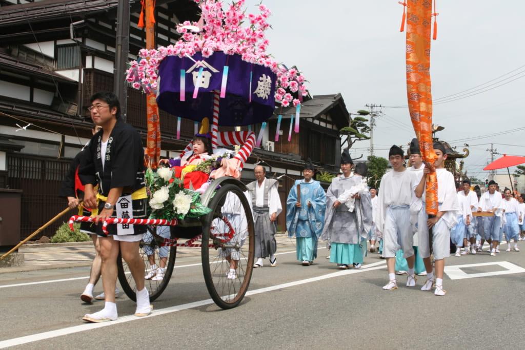 La procession du Daimyo Gyoretsu