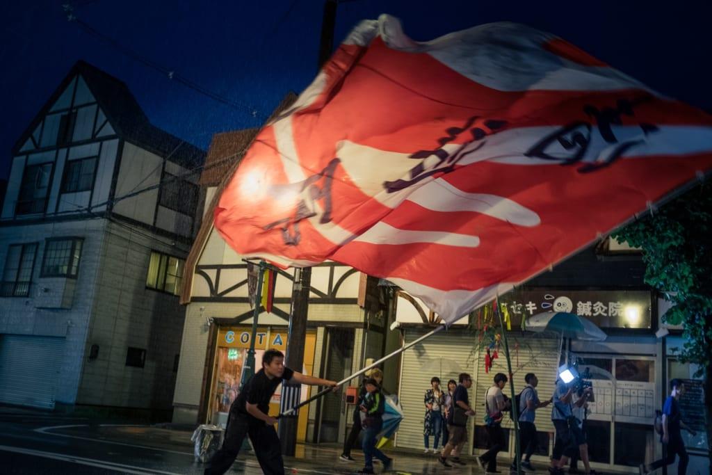 Lanternes et processions lors du festival deTanabata