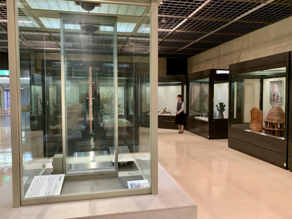 Musée de la préfecture de Saitama sur les anciens moticules funéraires de Sakitama