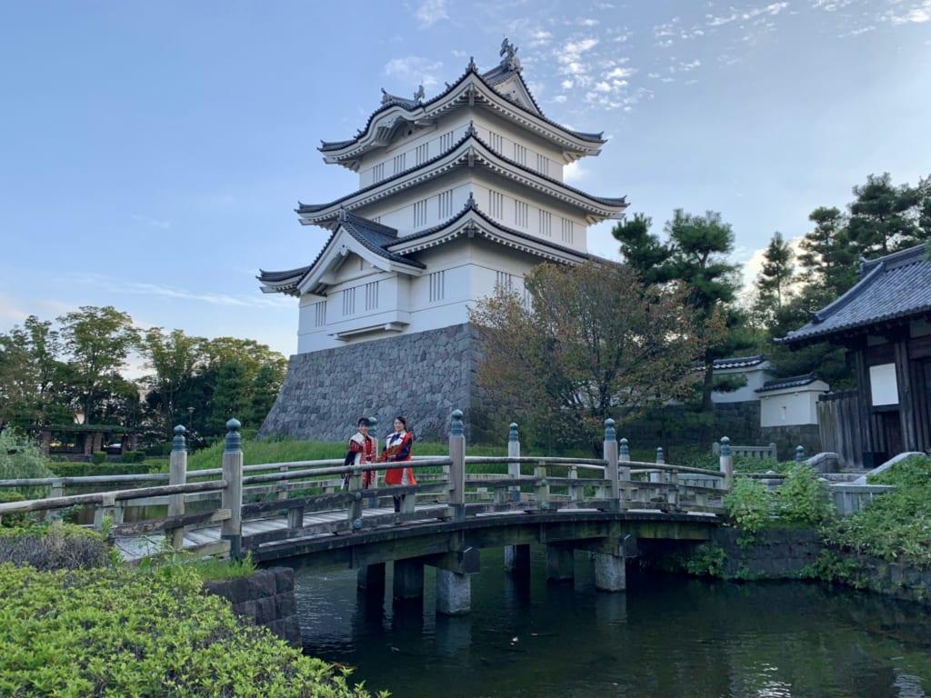 Le château Oshi à Gyoda