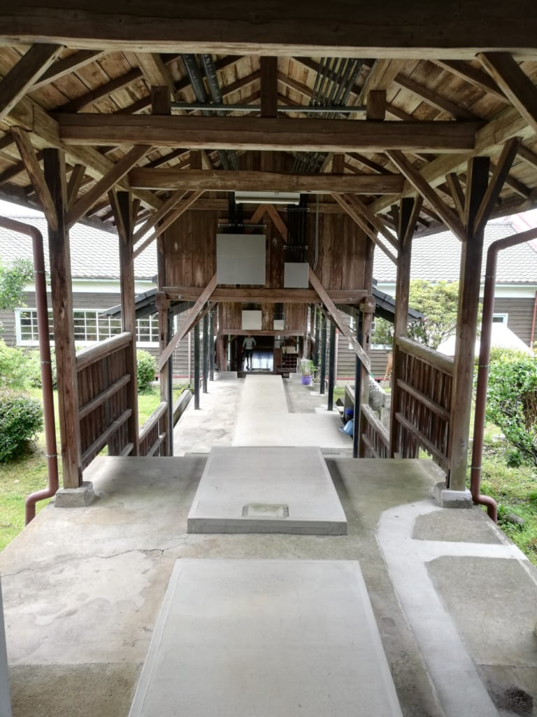 Kikuchi Furusato Suigen Koryukan à Kikuchi, dans la préfecture de Kumamoto