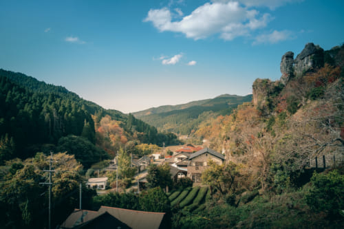 Vue depuis le temple Reiganji