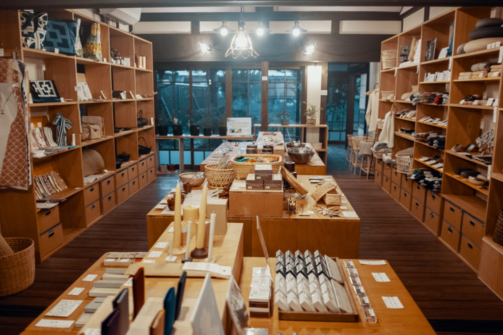 Unagi no Nedoko, centre de l'artisanat traditionnel de Yame