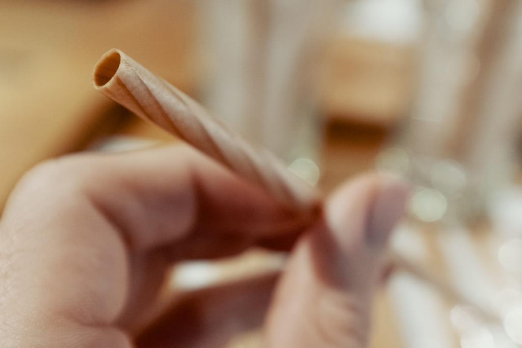 paille en bois, artisanat innovant de Yame