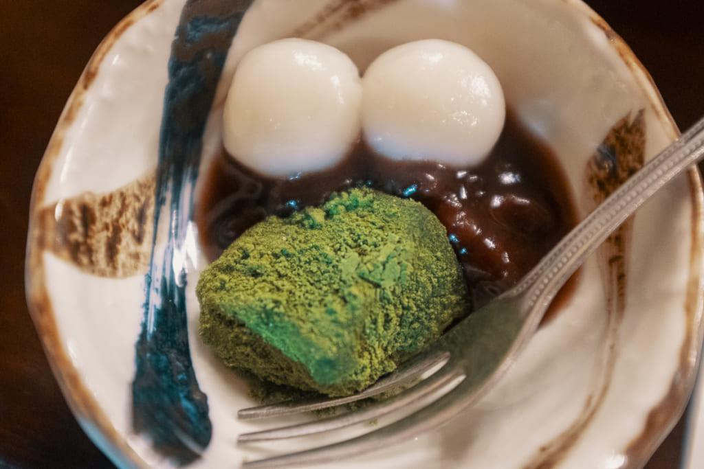 dessert japonais au ryokan ikenoyamaso