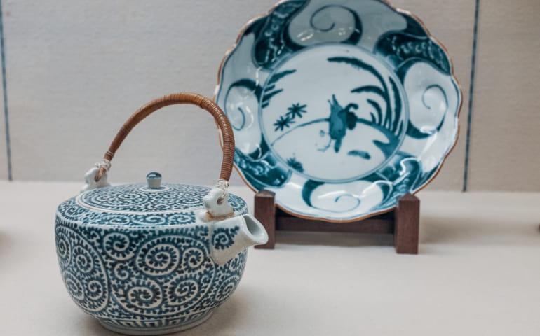 porcelaine d'imari produite dans la prérecture de Saga