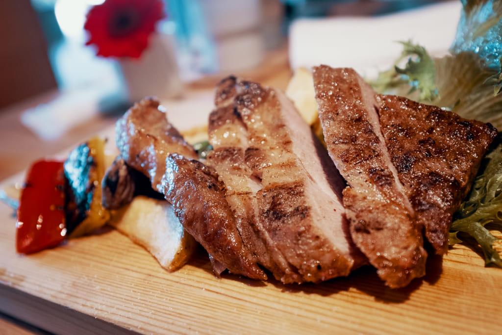 porc grillé