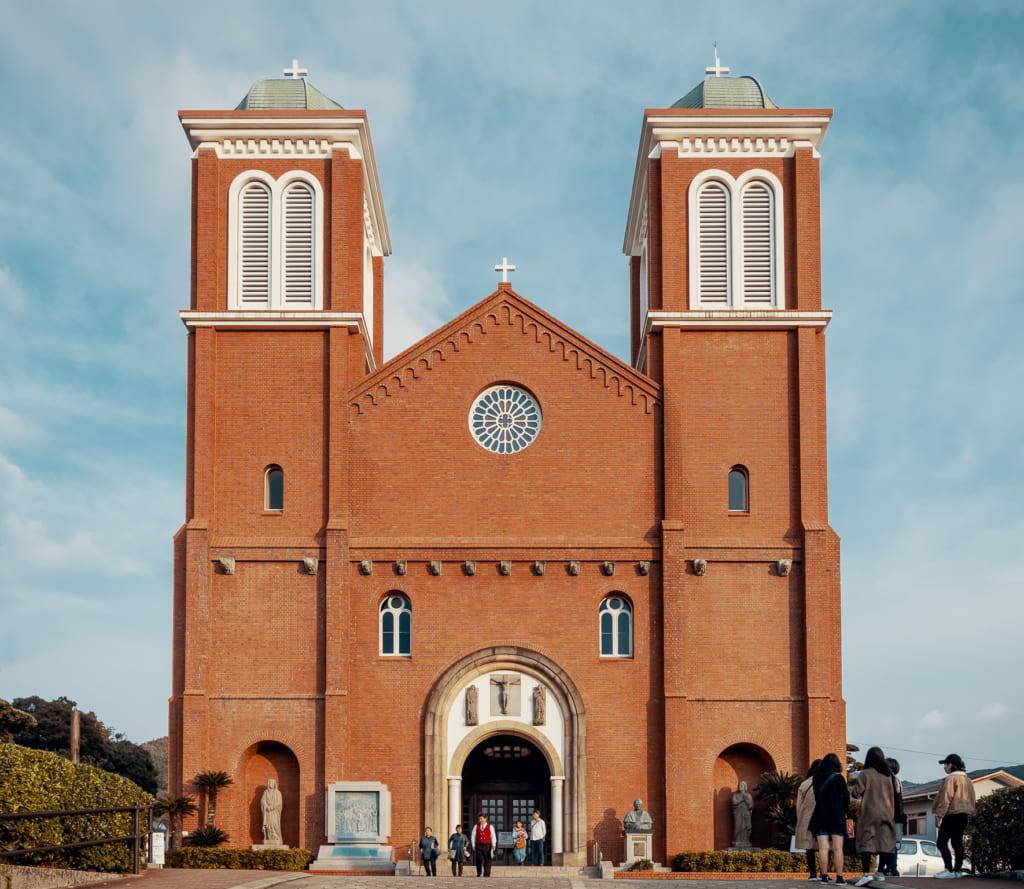 La cathédrale d'Urakami de Nagasaki