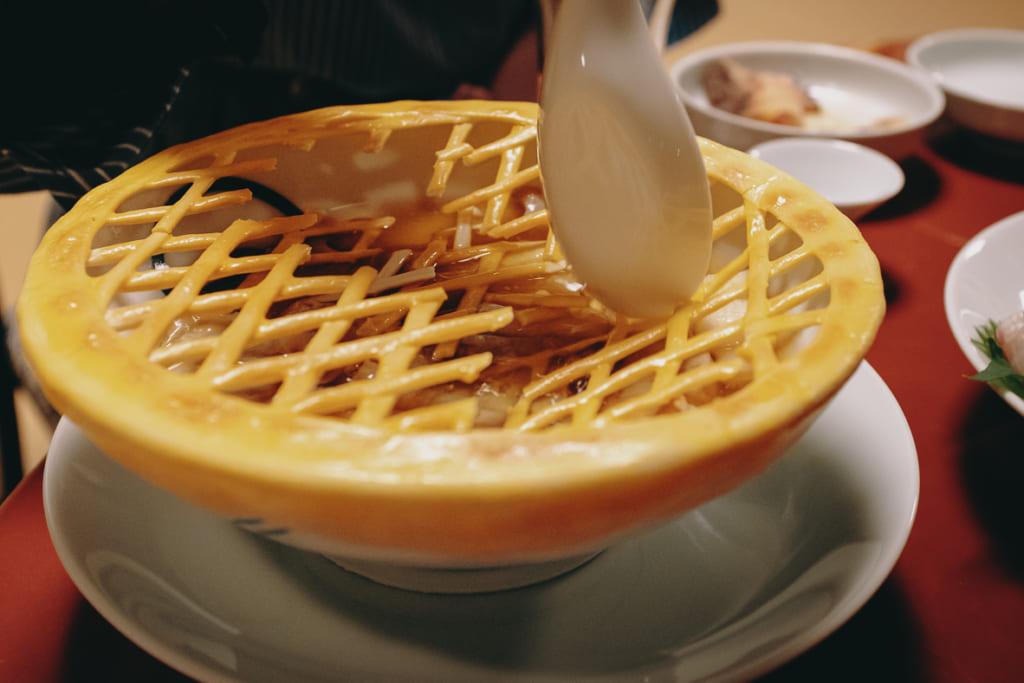 Cuisine fusion, typique de Nagasaki, mêlant influences européennes, chinoises et japonaises