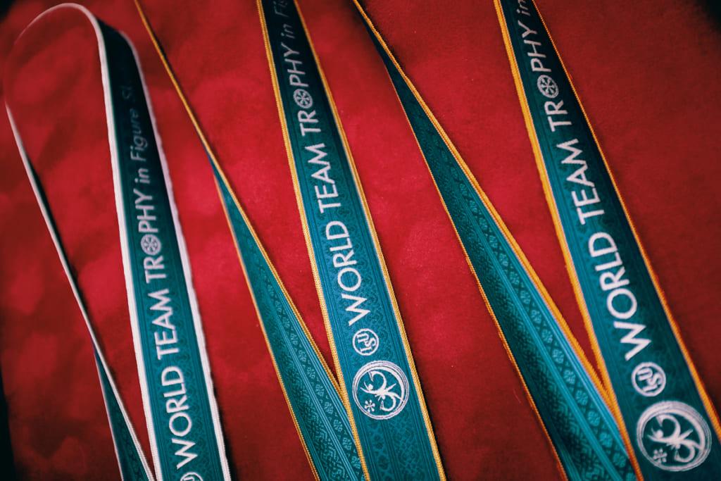 ruban en textile de Hakatori Sanui tissé pour une compétition internationnale