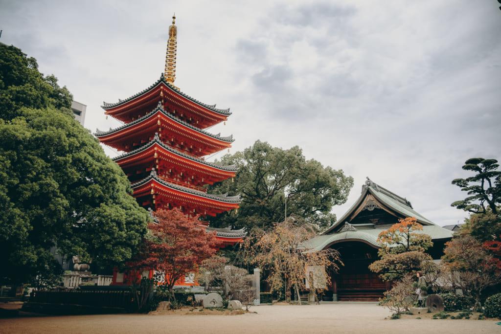 Temple Tochoji à Fukuoka