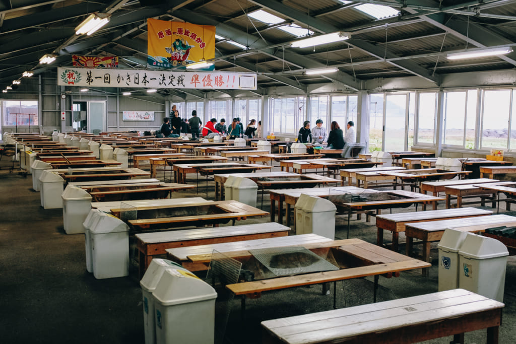Immense salle de Karatomari Ebisu à Fukuoka