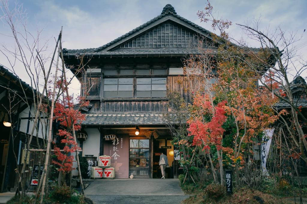 La brasserie Suginoya vue de l'extérieur