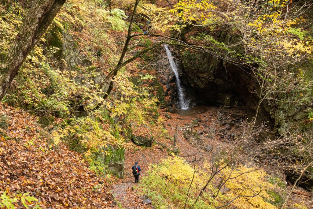 Cascade Nanayo no taki au Mont Mitake