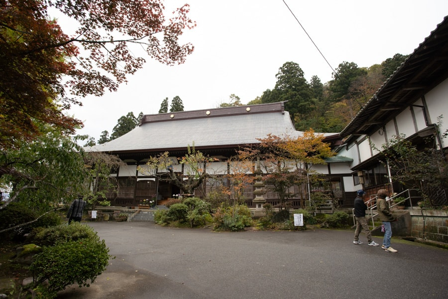le temple Fusai-ji dans la ville de Murakami