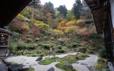 Le jardin du temple Fusai-ji à Murakami