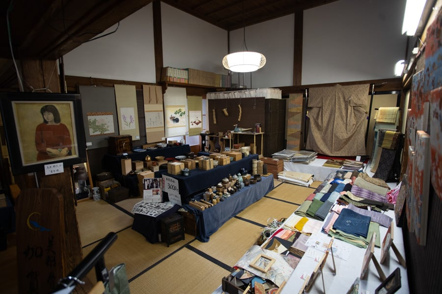 Stand d'artisanat de Murakami