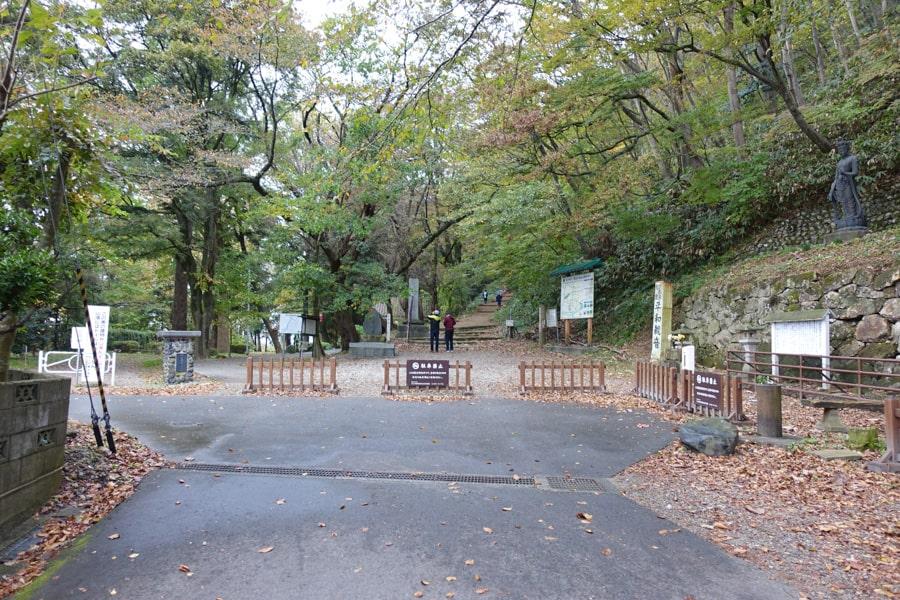 Entrée du château de Murakami