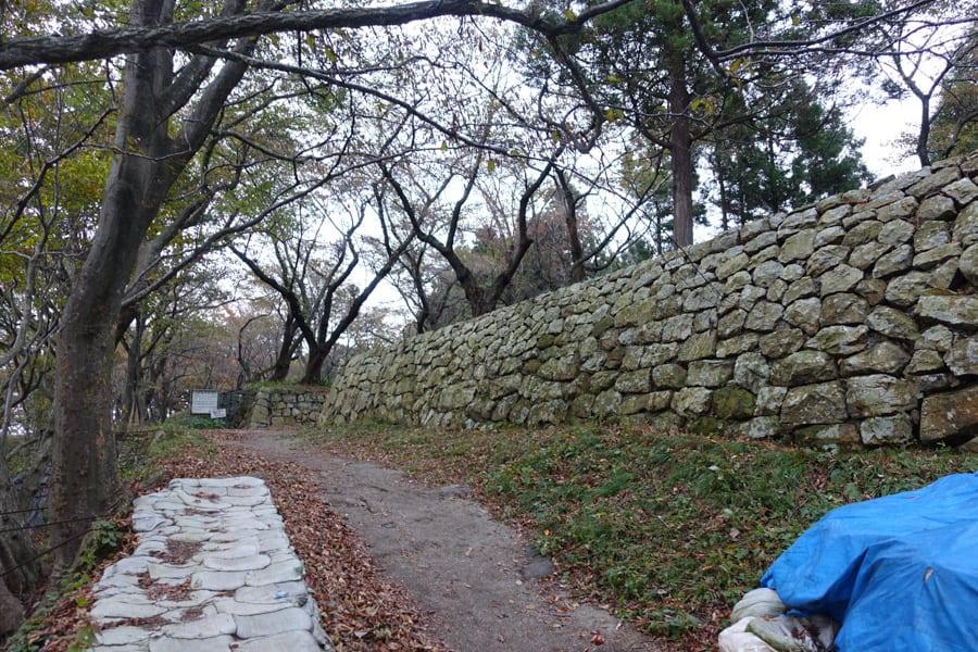 L'ancienne foreteresse du château de Murakami
