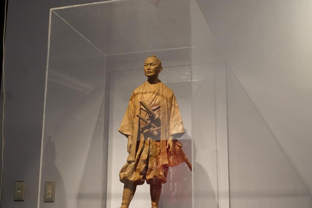 Statue du samouraï Buheiji Aoto