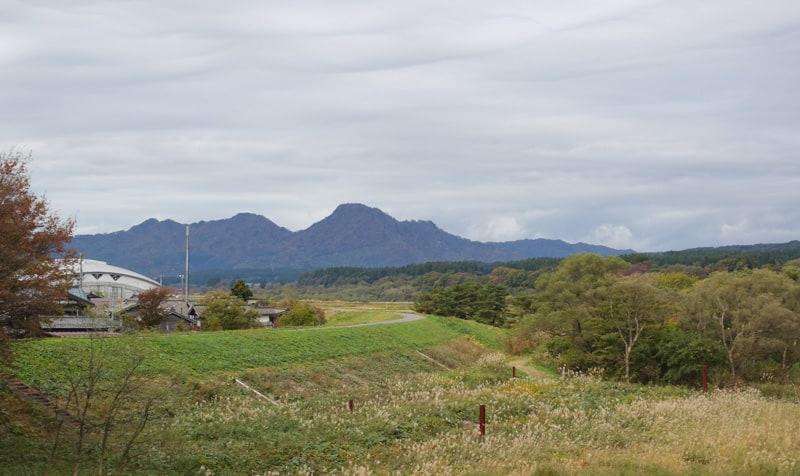 Paysage buccolique des campagnes de Sekikawa