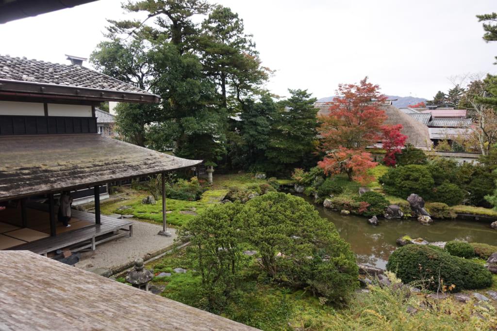 Le jardin japonais de la résidence Watanabe