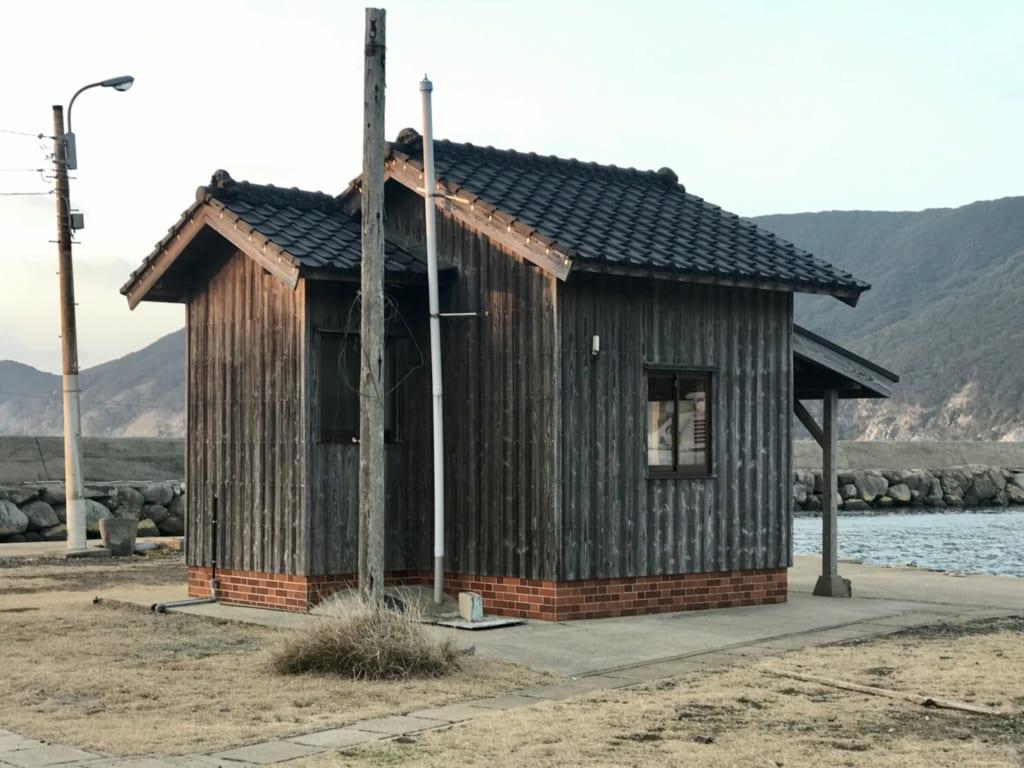 Une maison sur l'île abandonnée de Nozaki