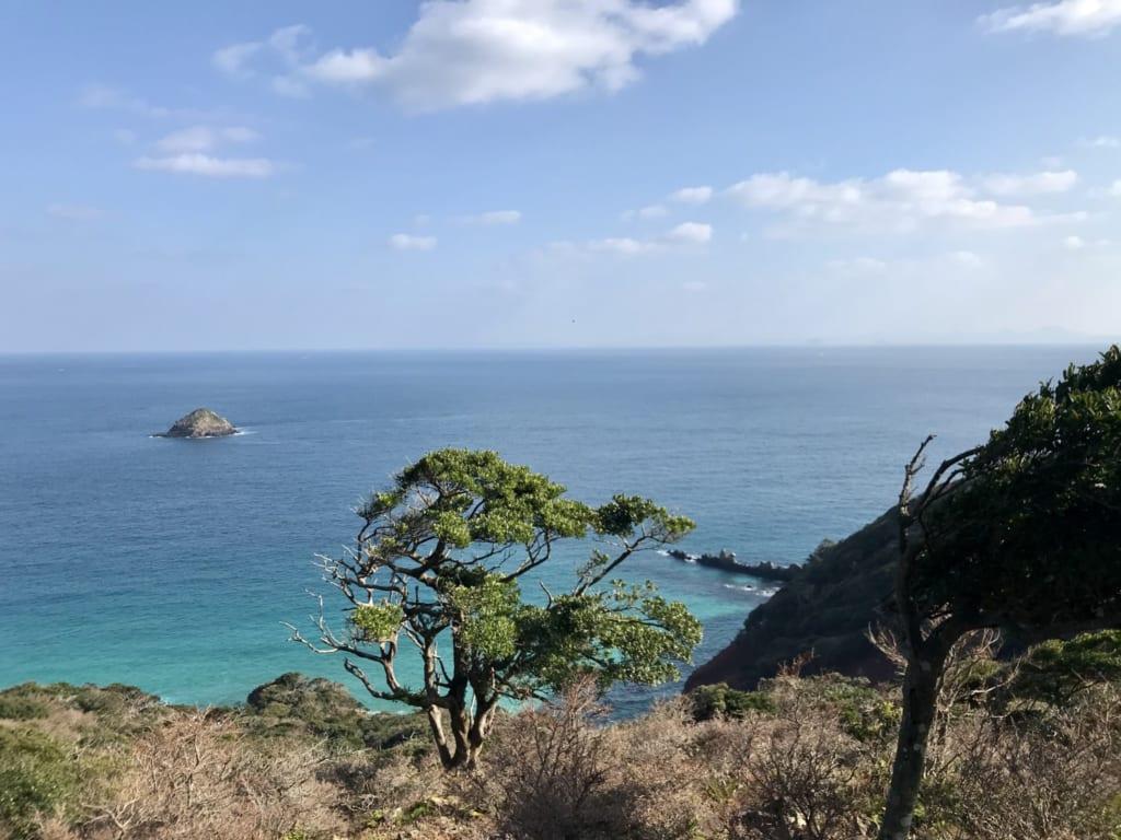 Sommet de l'pile abandonnée de Nozaki