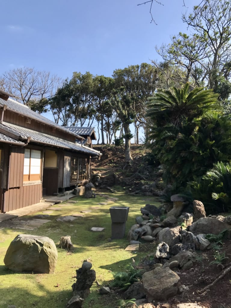 maison abandonnée de l' île abandonnée nozaki