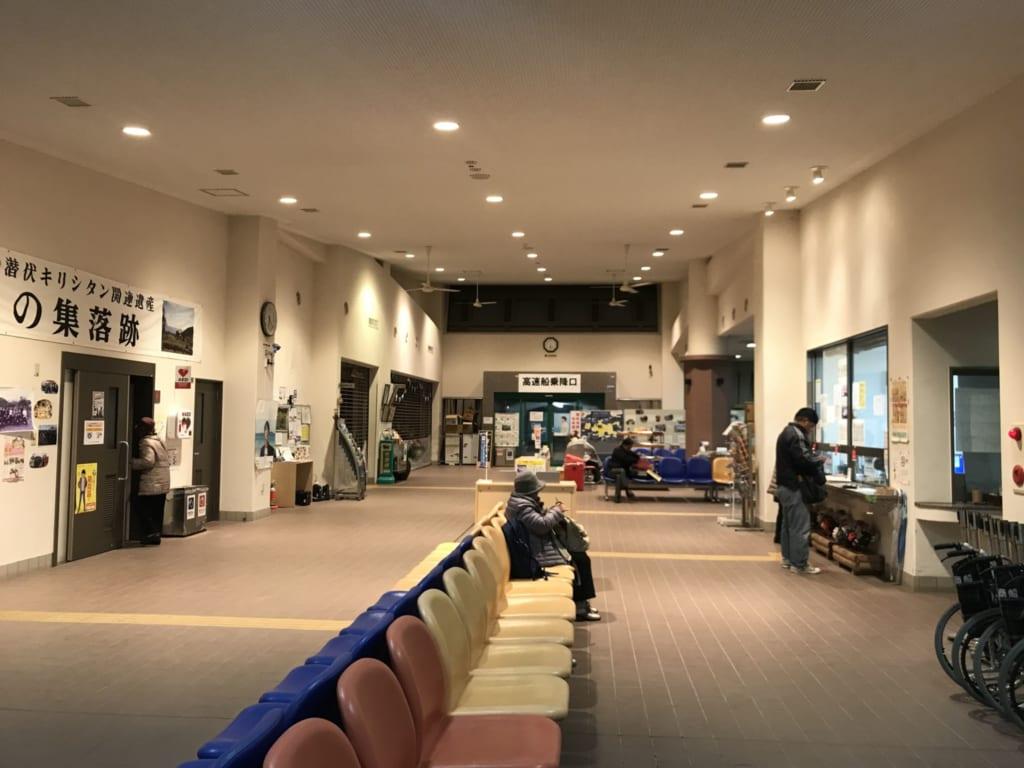 salle d'attente à ojika