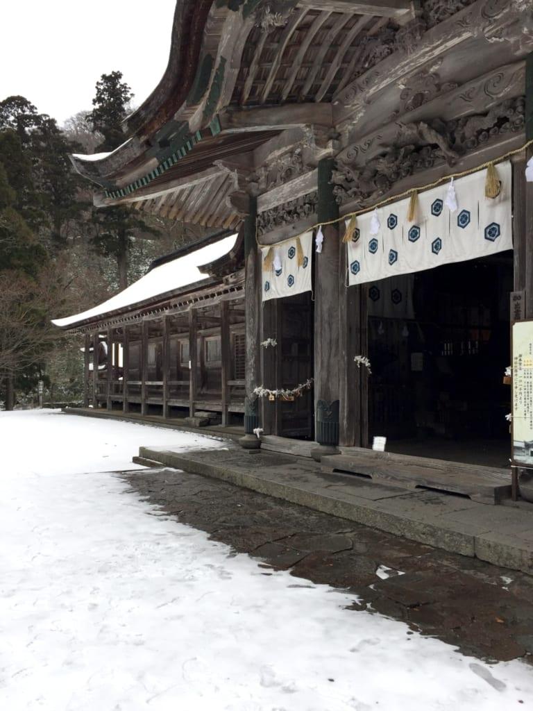Le sanctuaire ogayama, dans la préfecture de Tottori