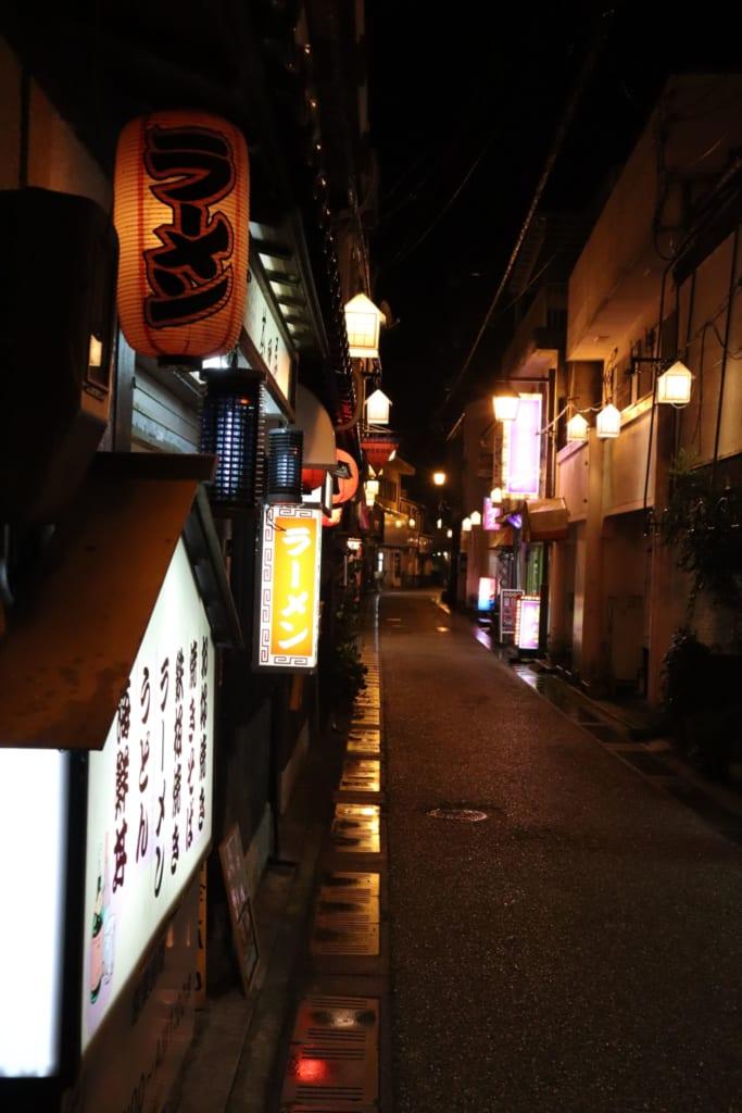 les rues de misasa, à tottori