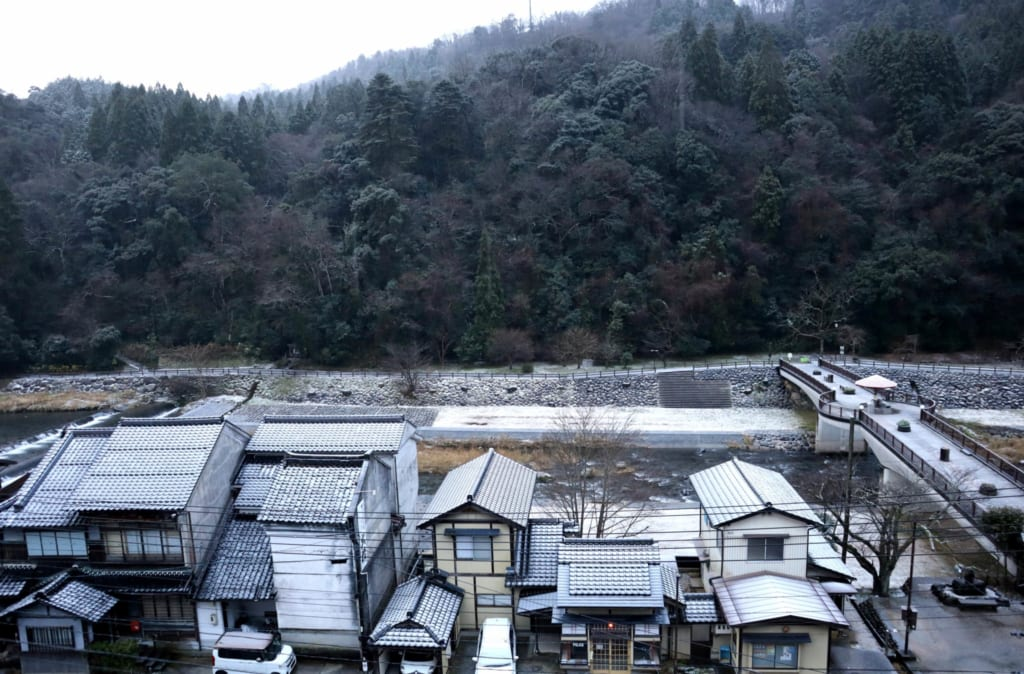 la station thermale de Misasa à Tottori