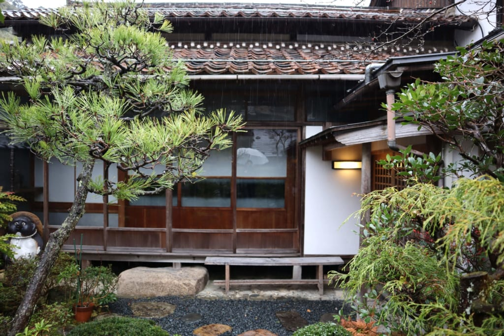 le restaurant Kitatei Manyoshi, dans la préfecture de tottori
