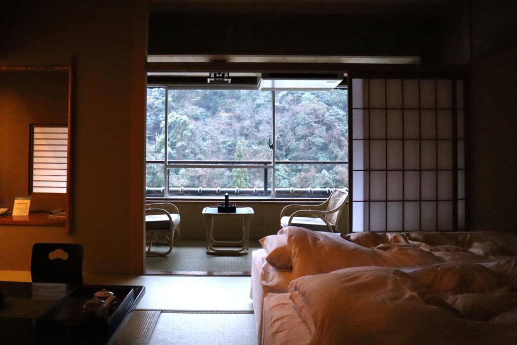 chambre du misasakan, un ryokan à Tottori
